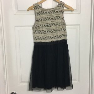 Lace and Tool Dress